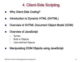 4. Client-Side Scripting