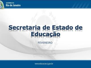 Secretaria de Estado de Educa��o