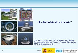 """""""La Industria de la Ciencia"""""""