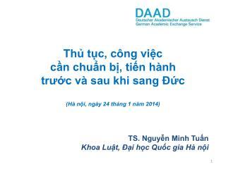 TS. Nguyễn Minh Tuấn Khoa Luật, Đại học Quốc gia Hà nội