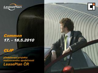 CLIP  predstaven  projektu realizovan ho spolecnost  LeasePlan CR