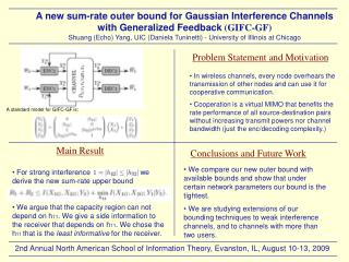 A new sum-rate outer bound for Gaussian Interference Channels with Generalized Feedback  (GIFC-GF)