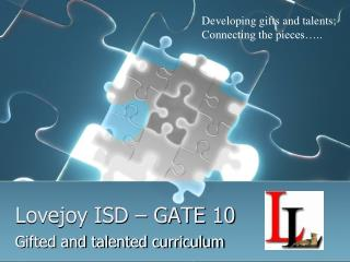 Lovejoy ISD – GATE 10
