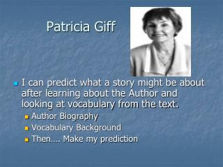 Patricia Giff