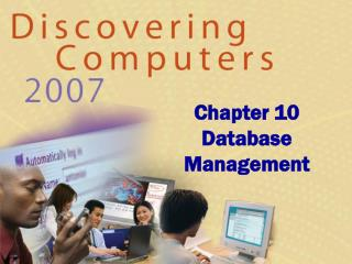 Chapter 10 Database Management