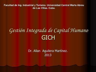 Gestión Integrada de Capital Humano  GICH