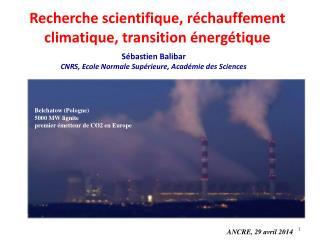 Sébastien Balibar CNRS, Ecole Normale Supérieure, Académie des Sciences
