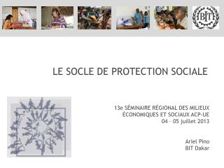 LE SOCLE DE PROTECTION SOCIALE