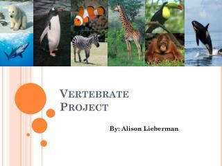 Vertebrate Project