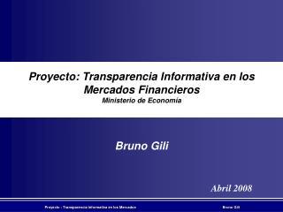 Bruno Gili