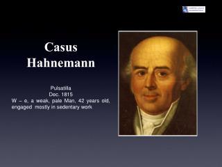 Casus Hahnemann