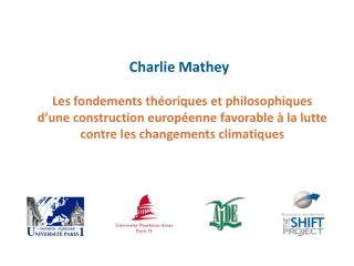 Les problématiques du changement climatique et de la pénurie de ressources