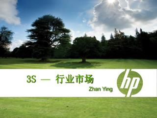 3S  — 行业市场 Zhan Ying