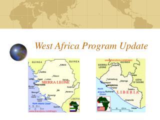 West Africa Program Update
