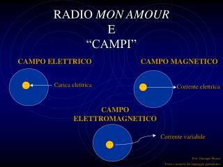 """RADIO  MON AMOUR E """"CAMPI"""""""
