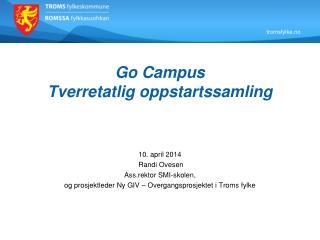 Go Campus Tverretatlig oppstartssamling