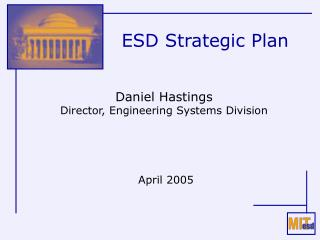 ESD Strategic Plan