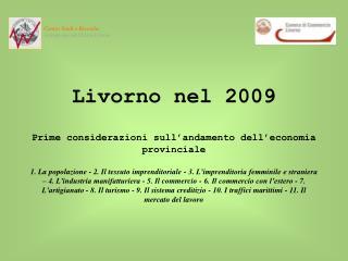 Centro Studi e Ricerche Azienda speciale CCIAA Livorno