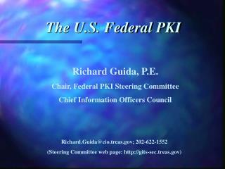 The U.S. Federal PKI