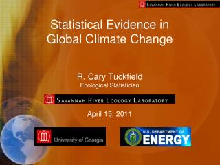 Statistical Evidence in  Global Climate Change