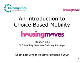 An introduction to Choice Based Mobility