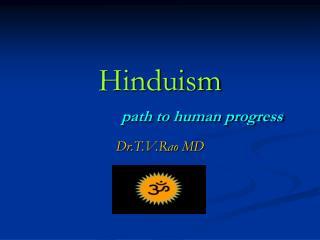 Hinduism path to human progress