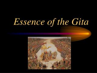 Essence of the Gita