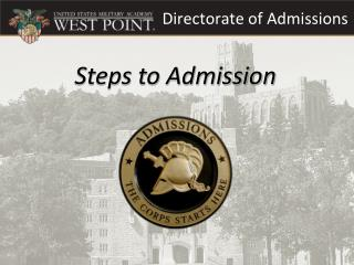 Directorate of Admissions