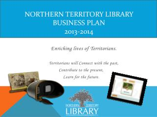 Northern Territory  Library Business  Plan 2013-2014