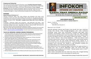 Edisi  XI/24  Juni  2012