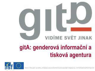 gitA: genderová informační a tisková agentura