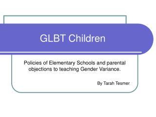 GLBT Children