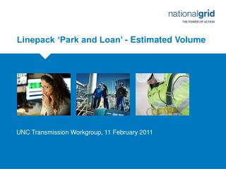 Linepack �Park and Loan� - Estimated Volume