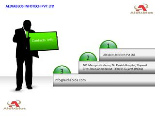 ALDIABLOS INFOTECH PVT LTD IT OUTSOURCING