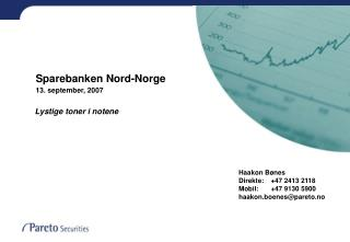 Sparebanken Nord-Norge