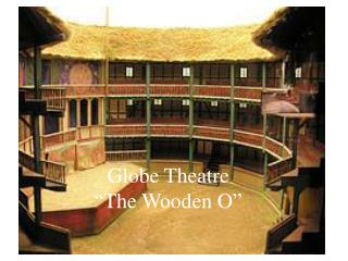 "Globe Theatre ""The Wooden O"""