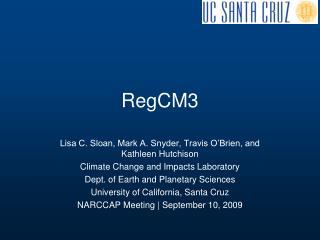 RegCM3