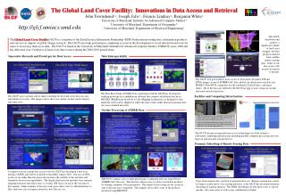 The Global Land Cover Facility:  Innovations in Data Access and Retrieval
