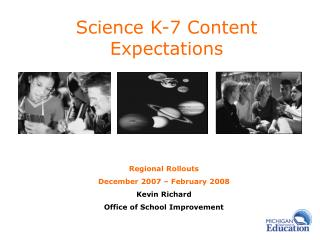 Science K-7 Content            Expectations