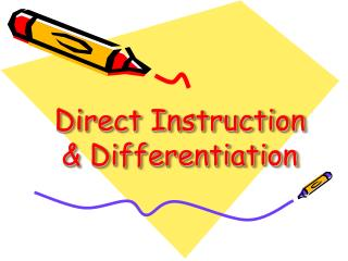 Direct Instruction & Differentiation
