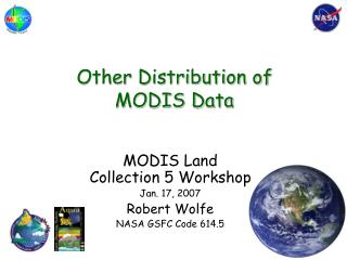 Other Distribution of MODIS Data
