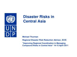 Disaster Risks in  Central Asia