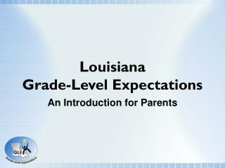 Louisiana Grade-Level Expectations