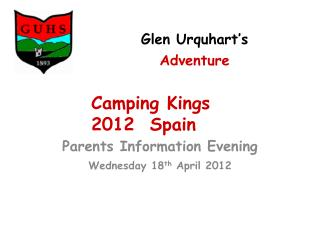Glen Urquhart's Adventure