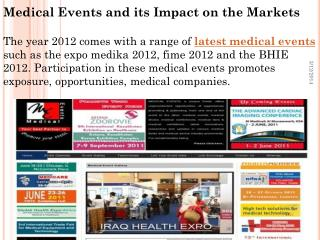 Medical Events and its impact on the Markets