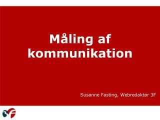 Måling af kommunikation