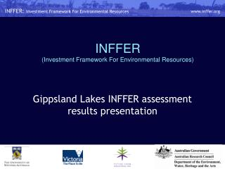INFFER  (Investment Framework For Environmental Resources)