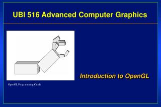 UB I  516 Advanced  Computer Graphics
