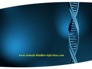 Bladder Infection Treatment