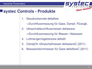 systec Controls - Produkte
